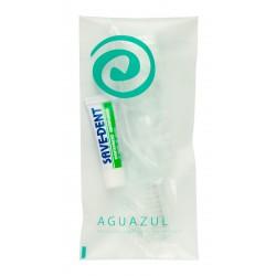 Zestaw do mycia zębów Aguazul 100szt