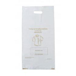 Hotel Einweg Wäschebeutel Plastik 500 Stück wasserdicht Hygiene