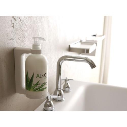 Kosmetyki hotelowe - dyspenser do mydła i szamponu, na ścianę