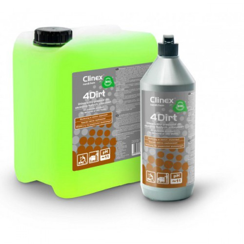 hotelowe.co | Clinex 4Dirt płyn do mycia podłóg i innych