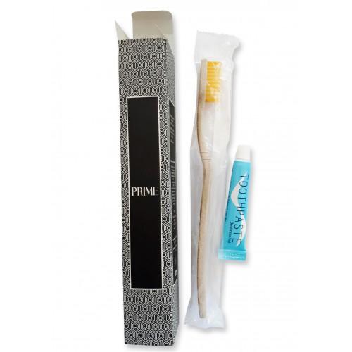 kosmetyki hotelowe | Zestaw do mycia zębów w kartoniku