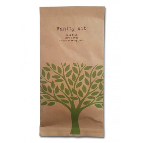 Nature |  Vanity Kit Kosmetikset Nagelfeile Wattestäbchen
