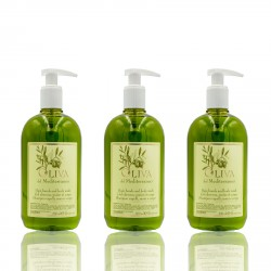 Oliva |  Hotel Shampoo&Duschgel 2in1 Pumpflasche Oliva 500ml 1