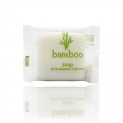 Bamboo |  Hotel Seife flow pack in Folie Bamboo 13g 500 Stück