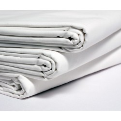 Prześcieradło Leon Satyna 100% bawełna adamaszek, gramatura ok.140 g/m2 Paski 10mm