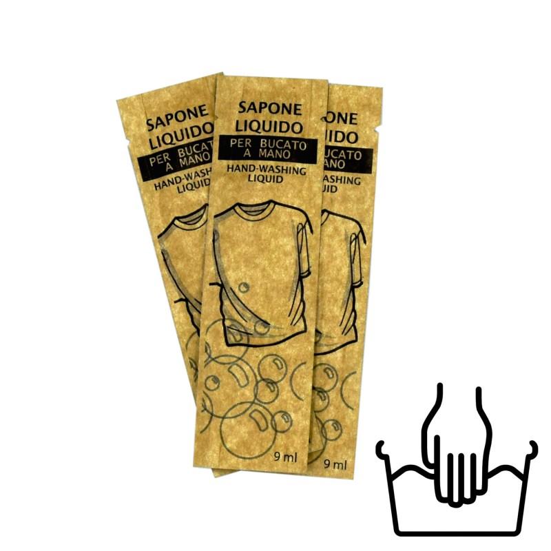 Płyn do prania ręcznego saszetka 9 ml opakowanie 150 szt