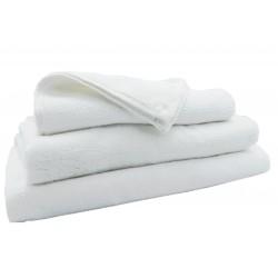 KISSEN |  Hotel Handtuch weiß Aqua 500 g/m2 100% Baumwolle