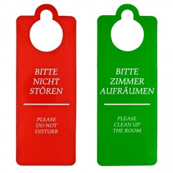 HOTELACCESSORIES    Hotel Türanhänger Türschild Türhänger