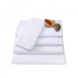 Hotel Handtuch Rimini 100% weiß aus Baumwolle 500 g/m2