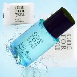 Zestaw kosmetyków dla hoteli One For You szampon-żel 20ml