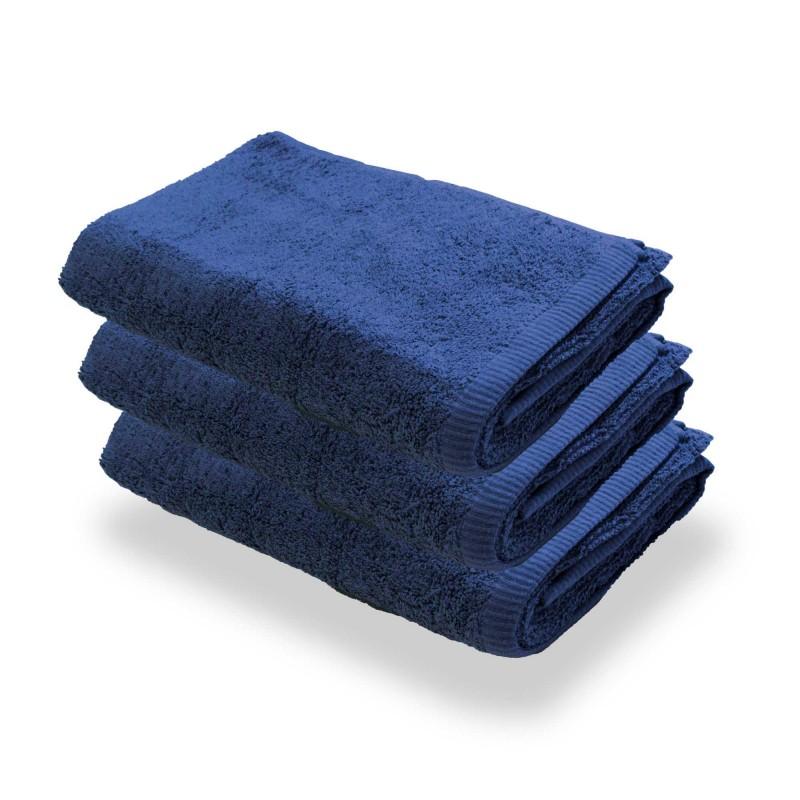 Granatowe Ręczniki Hotelowe | Comfort-Pur