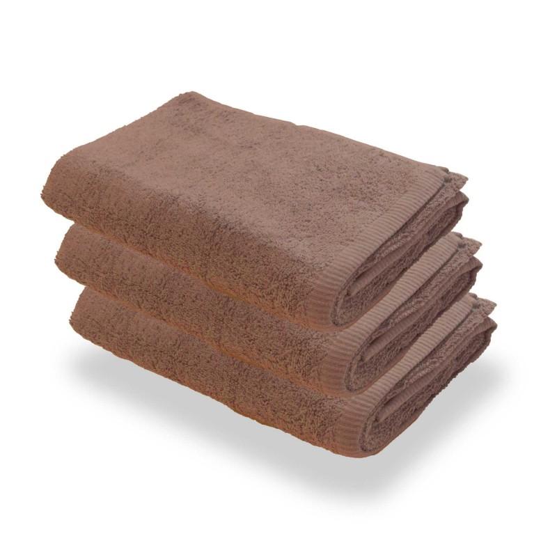 Brązowe Ręczniki Hotelowe Rimini 100% bawełna 500 g/m2