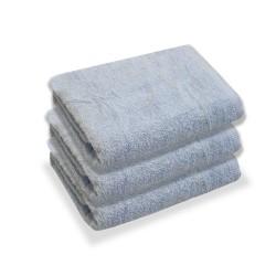Błękitne Ręczniki Hotelowe Rimini 100% bawełna 500 g/m2