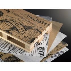 Papier pergaminowy, nieprzywierający VINTAGE do hotelu, restauracji - 500szt - Nr. H6333