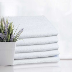 Białe ręczniki hotelowe100% bawełna   hotelowe.co