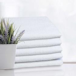 Hotel Handtuch Rimini weiß 100% aus Baumwolle 500 g/m2