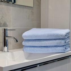 Hotel Handtuch Rimini Hotelqualität 100% aus Baumwolle 500 g/m2 HELL BLAU